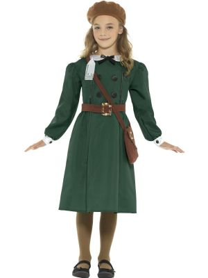 Girls Fancy Dress | World War 2 Evacuee Costume